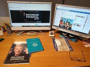 deelgenomen aan Maximum Potential Online.